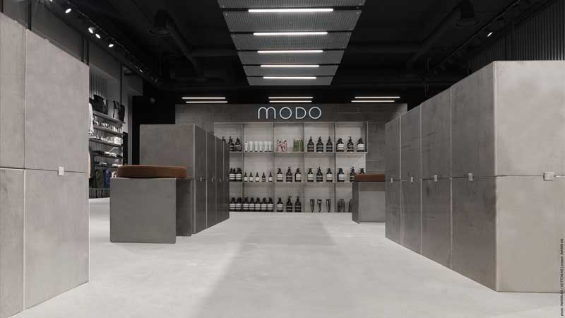 INAINN Architects signed the project for the Norwegian brand MODO