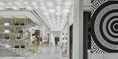 Versace flagship store, Parigi.