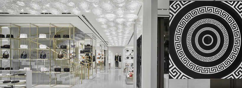 Medusa Arcade – New Versace Store in Paris