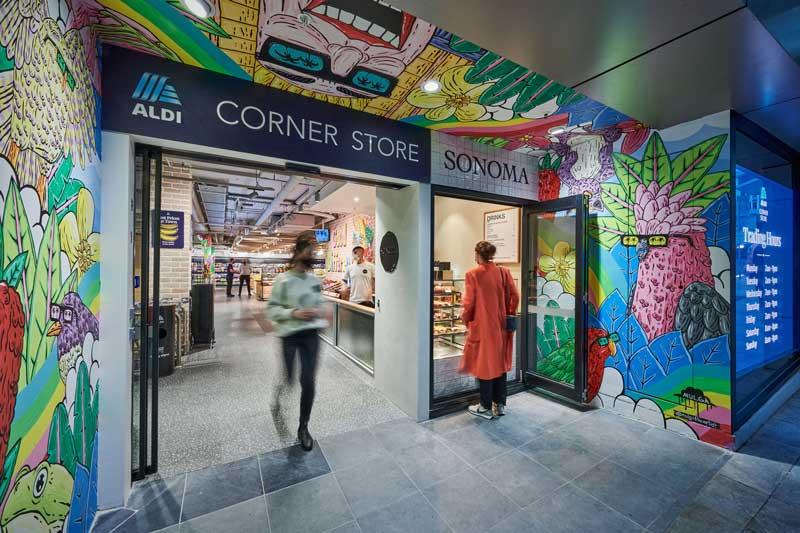 Landini Associates debuts new small format design concept for ALDI: ALDI Corner Store
