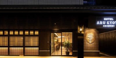 The design of HOTEL ARU KYOTO