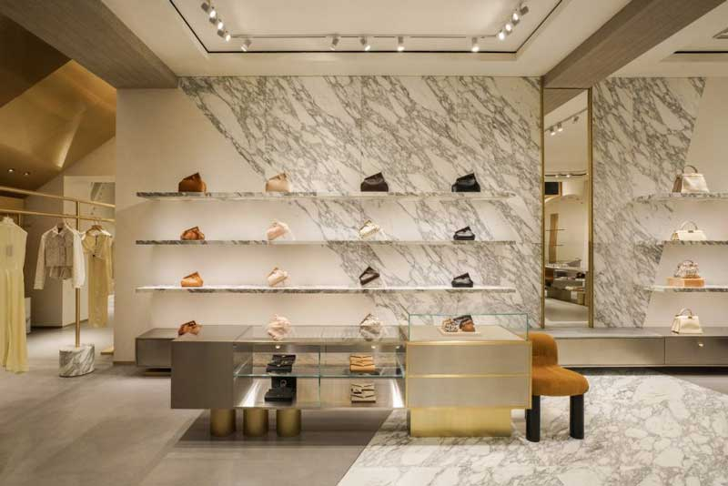 Fendi has opened a new flagship store on the corner of 57th Street in Manhattan's Fuller Building