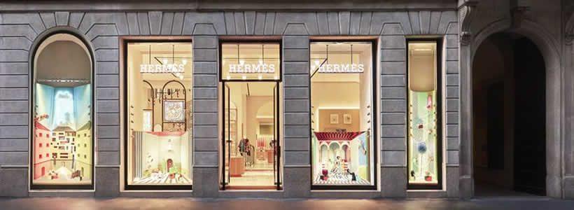 Hermès riapre il flagship store di Milano in via Montenapoleone