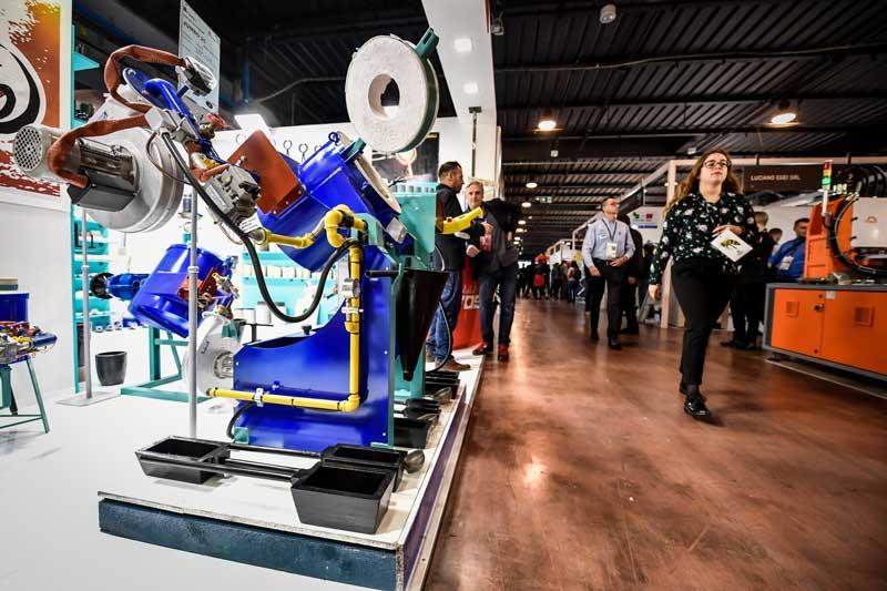 presenza T.GOLD la manifestazione internazionale dedicata ai macchinari per l'oreficeria e la manifattura del gioiello