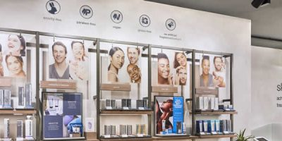 New concept for Dermalogica's brand and retail spaces