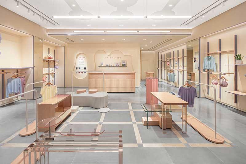 Progetto per il Flagship Store MAIA ACTIVE a Pechino