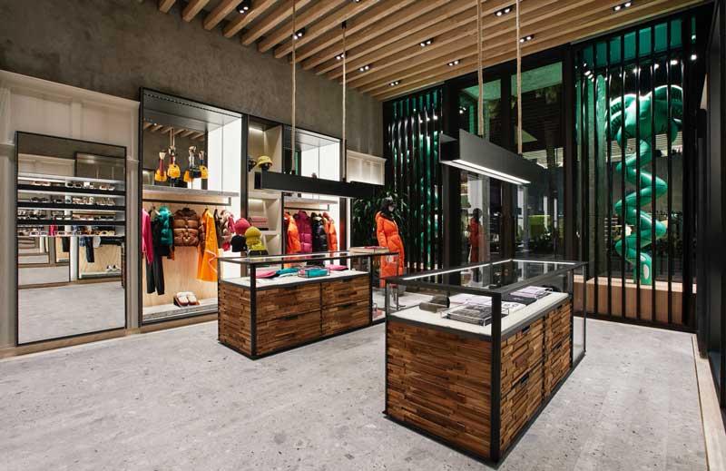 Nuova location per la boutique Moncler di Los Angeles