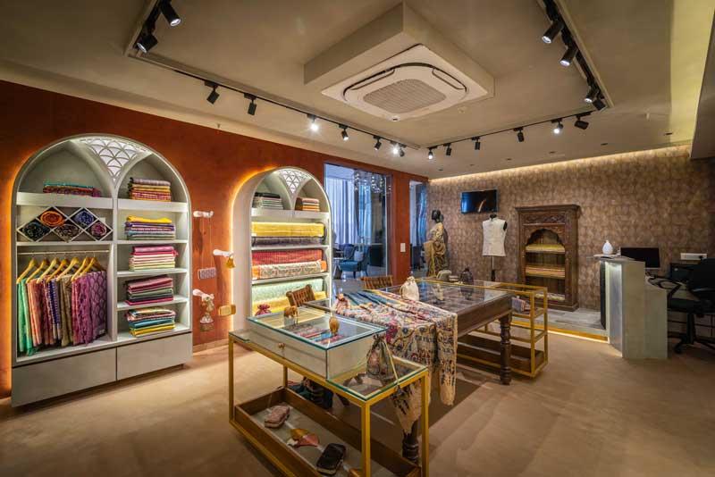 RETAIL DESIGN - Nueva Indian Boutique Store Ahmedabad