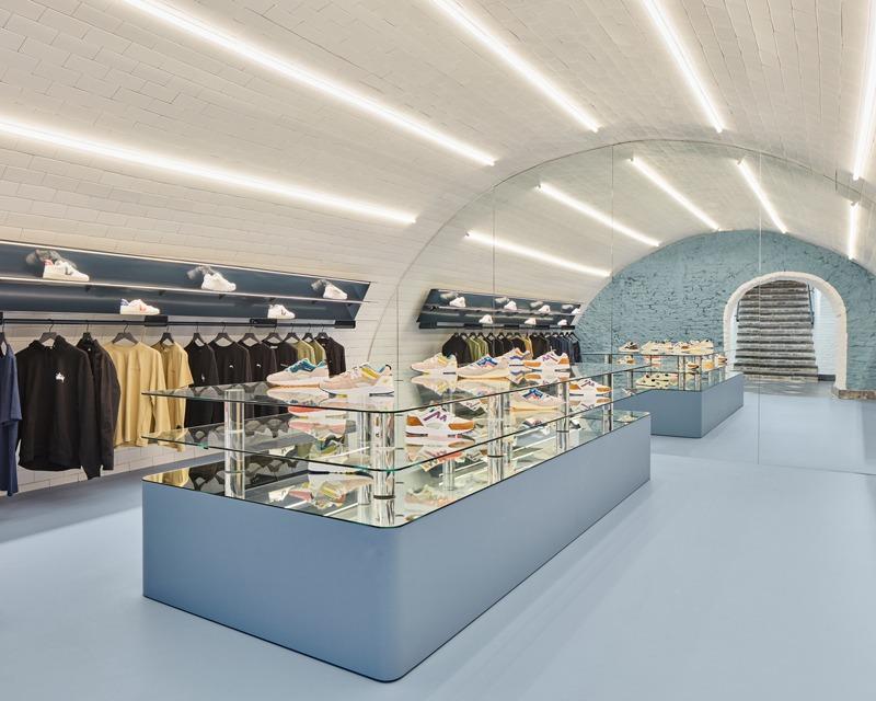 Progetto per la Boutique Coef  a Utrecht, Olanda