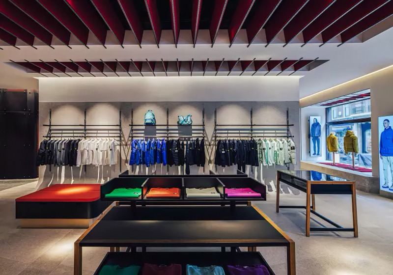 Stone Island London flagship store