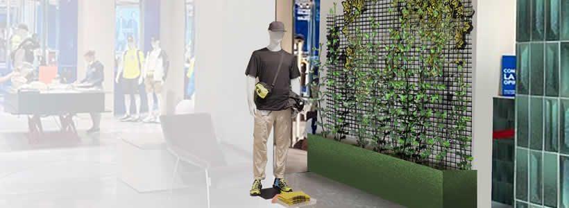"""OREFICI11, multi brand concept store in via Orefici 11, si trasforma in una """"Urban Oasis"""" nel cuore di Milano."""