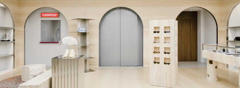 AMO designed Off-White flagship store