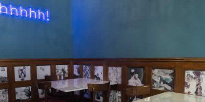 Andrea Castrignano firma l'interior design di DaDa in Taverna  e dona nuovo smalto alla storica Taverna Moriggi
