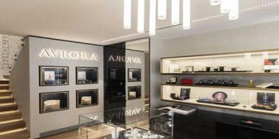 Aurora opens a new boutique in Milan's fashion district
