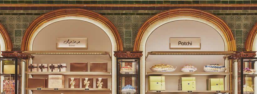 Nuova sala del cioccolato da HARRODS Londra