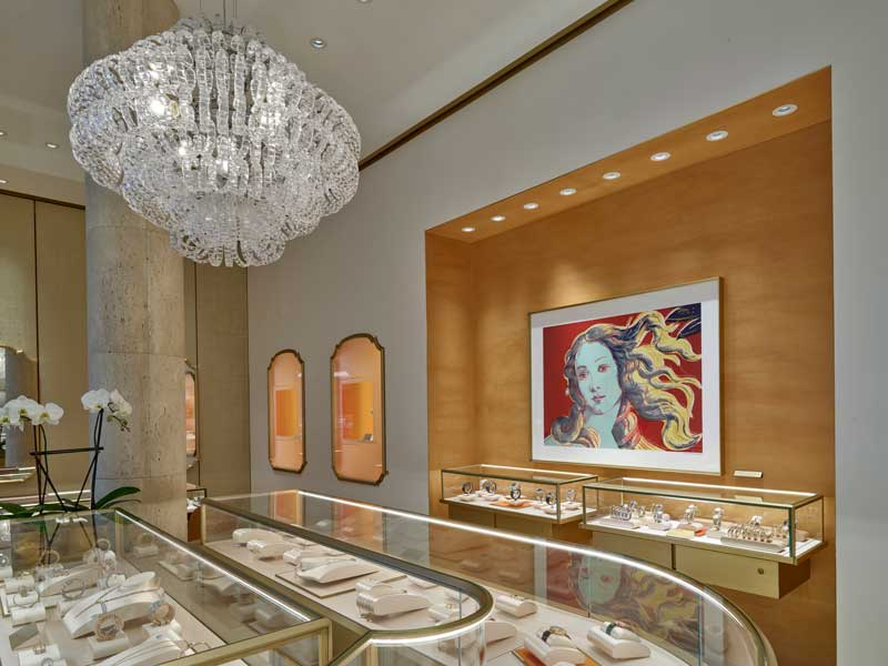 Retail Design, LONDON JEWELERS New York