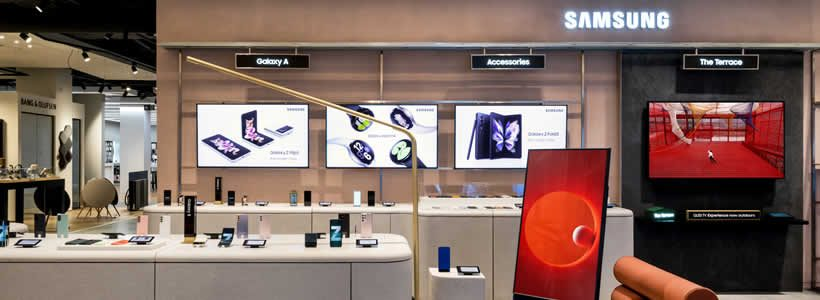Discover Samsung's new space at Selfridges